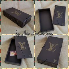 Caixa/Pasta Organizadora de Documentos Louis Vuitton by Arte-LaEmCasa