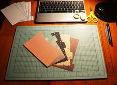 Personal size dividers that I created for my new Finsbury Filofax. Next, I need to decorate and laminate them :-)