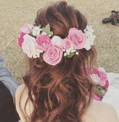 インスタで人気の可愛いダウンスタイルのブライダルヘア | marry[マリー]