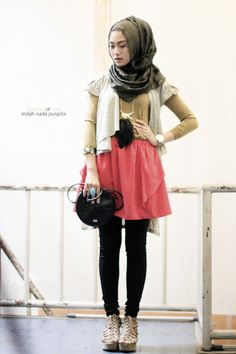 cute! #hijab #hijabi #style #fashion