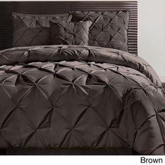 Beautiful Modern Textured Chocolate Brown Comforter Set New Queen King Szs   eBay $130