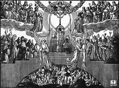 """""""When the moment of Consecration is arriving, every one should be silent, and trembling with reverential awe; he should forget everything earthly, remembering that the King of Kings and Lord of Lords is coming down upon the altar as a victim to be offered to God the Father, and as food to be given to the Faithful; He is preceded by the Angelic choirs, in full splendor, with their faces veiled, singing hymns of praise with great joy."""" - St. James Catholic Art, Catholic Saints, Roman Catholic, Catholic Hymns, Catholic News, All Saints Day, Prayer Book, Kirchen, Christian Life"""