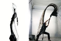 high speed water shooting by shinichi maruyama | designboom