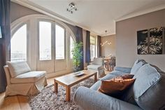 Leidseplein luxury 2.  Located in the heart of Amsterdam's vibrant nightlife, this luxurious and spacious apartment has been lovingly converted from an early 20th-century police station and can sleep up to six guests.
