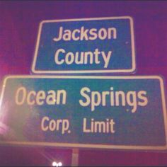 Ocean Springs, MS... Home Sweet Home!