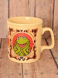 Vintage 70's Klassy Kermit the Frog Mug
