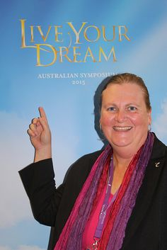Essential Oils We Trust's, Kathy Helen Pike at Young Living Australian Symposium 'Live your Dream', Gold Coast, 2015.