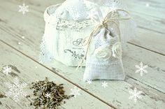 15% OFF LAVENDER SACHET  Organic Linen lavender от pureWHITEspa