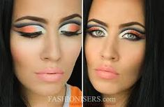 Image result for arabic makeup step by step with pictures