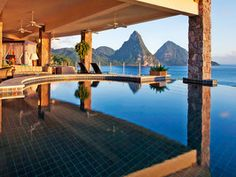 Jade Mountain St. Lucia is a captivating wonderland full of architectural surprises and mesmerizing details.