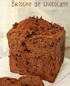 #Brioche de #chocolate {con #panificadora} Bread Maker Recipes, Cake Recipes, Dessert Recipes, Chocolate Cookies, Chocolate Recipes, Pan Bread, Small Cake, Eat Dessert First, Brioche French Toast