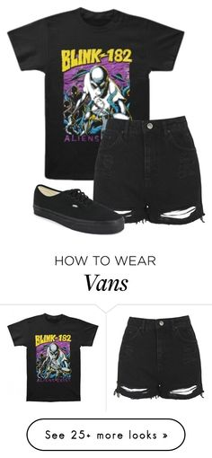 """""""Untitled #560"""" by bands-are-my-savior on Polyvore featuring Topshop and Vans"""