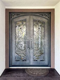 Place your order today and get ready to welcome an iron door to your home! 💡 About this design: Apollo Double Entry Iron Door ☎️️ 877-205-9418 🌐 www.iwantthatdoor.com Wrought Iron Doors, Apollo, Design, Home Decor, Decoration Home, Wrought Iron Gates, Room Decor, Home Interior Design
