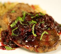 Baked lamb steaks with chili and coriander.Prepare these lamb steaks in advance,then put them in the turbo cooker a few minutes before you want to eat.. See more Delicious Recipes!