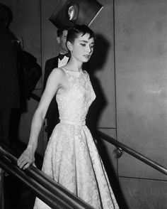 Vintage Inspired Custom Couture- Dress will be made to order, in your size.     This is the dress Audrey wore to the 1954 Oscars, and it makes a