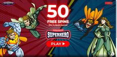 Jackpot City Casino, is giving new players an exclusive welcome bonus, receive a $1600 bonus which is split across your first four deposits and 50 Free Spins No Deposit on Superhero slot!  This fantastic bonus can be used on the whole host of exciting and fun games, so why not take a chance on this casino and experience the city of jackpots for yourself! 1st Deposit – 100% Bonus up to $400 2nd Deposit – 100% Bonus up to $400 3rd Deposit – 100% Bonus up to $400 4th Deposit – 100% Bonus up to… Fun Games, Spinning, Slot, Neon Signs, Superhero, City, Free, Hand Spinning, Cities