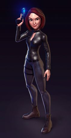Agent Danvers on Behance