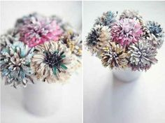 Give stunning paper bouquets.