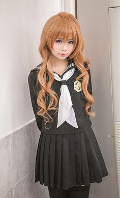 Anime,Аниме,Toradora!,Aisaka Taiga,Anime Cosplay