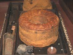 Faux Pantry Cake-pantry cake, primitive, primitive cake