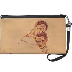 egon schiele double self portrait - Google Search Paul Klee, Portrait, Bags, Google Search, Portraits, Paintings, Expressionism, Style, Women