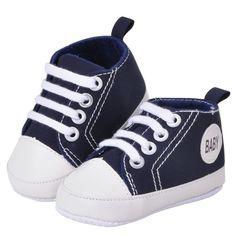 Jongen baby schoenen Sportschoenen Sneakers Sapatos Kindje Zuigeling Baby Zachte Bodem Babyschoenen