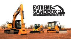 Want to go drive around some heavy equipment and smash some cars? Well meet Extreme Sandbox. Think of Extreme Sandbox as a theme park for