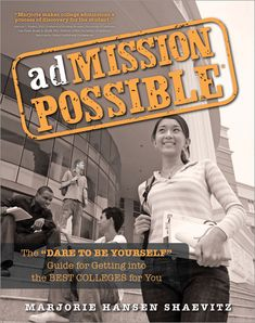 adMISSION POSSIBLE takes the stress out of the college admission process by providing you with the most useful hands-on advice on everything you need to know and do to make the application process go smoothly-a step-by-step action plan, filled with worksheets, charts, resume and essay samples, questions, directions, and timelines.