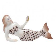 Herend Mermaid - Chocolate