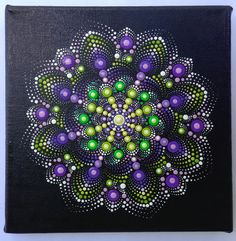 Mandala painting, Aboriginal Art, small painting, acrylic paint on canvas.  Size of the painting is 20cm x 20cm. My art will be carefully packaged to ensure painting reaches you in perfect condition.  I will send you the image with Priority Air Mail shipping which means it should arrive within 5-7 business
