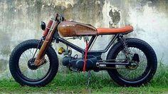Honda Cub Series @hondac70_  #customcub #custom #cubseries #kazamabikersstore #kazamabikersfamilia