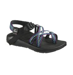 Available Now! - Limited Edition 25th Anniversary Webbing - Window Pane - ZX/2 Colorado - Women's - J104840   Chaco.com #Chaco #Chacos #Sandals