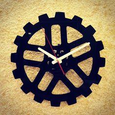 clock, gear, laser cut