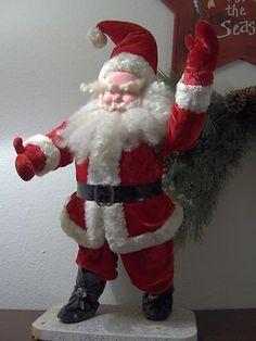 Vintage Harold Gale Santa