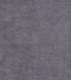 Home Decor Solid Fabric-Signature Series  Chenille Dark Gray