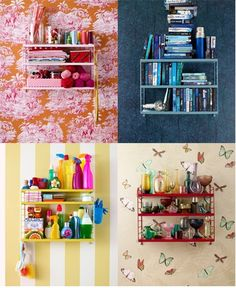 String Pocket Shelf http://cimmermann.co.uk/blog/spring-add-little-sunshine/