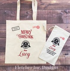 A personal favorite from my Etsy shop https://www.etsy.com/listing/492602633/christmas-custom-tote-bag-customized