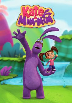 'Kate & Mim-Mim' Animated Series on Disney Junior. My nephew loves this tv show so much, I may draw them for him later on!
