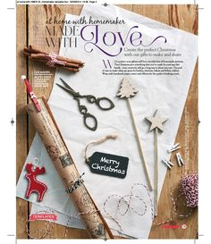 Loving the Christmas feature from #homemakermag