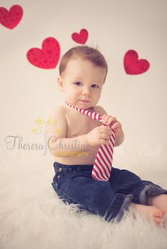 Valentine's Day Photography.  Babies First Year Photography