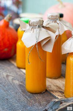 sok z dyni, sok z jabłek, sok z pomarańczy, sok dyniowy, sok jabłowo-dyniowy, domowy sok z dyni, domowy sok dyniowy, łatwy przepis na sok dyniowy