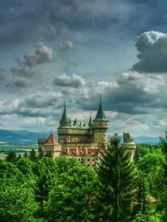 Bojnice Castle, Slovakia                                                                                                                                                                                 More