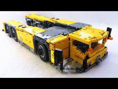 I want to present you my second Lego Technic MOC, a giant towbarless Pushback Tug. Lego Batman Bane, Cool Lego, Awesome Lego, Lego Ship, Lego Boards, Lego Birthday, Lego Architecture, Lego Models, Lego Disney