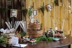 Woodland Birthday Party - Project Nursery