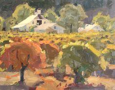 Daniel Aldana. Brink of Autumn. 14 x 18