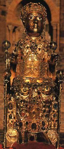 9. 1 Majesté de Sainte Foy de Conques