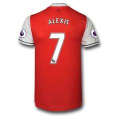Arsenal 16-17 Alexis Sanchez 7 Domácí Krátký Rukáv  #Fotbalové    #dresy  #levně