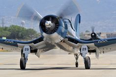 "F4U Corsair. Bah bah Blacksheep.-- ""we are Poor Little Lambs who have lost out way, Baa Baa Baa ""  can hear the air raid siren now LOL"