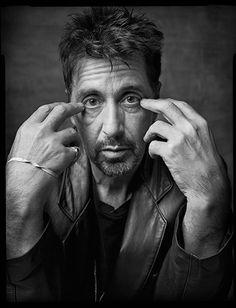 Credit: Mark Seliger/ Beetles + Huxley Al Pacino, New York City, 1999Shot for US Magazine