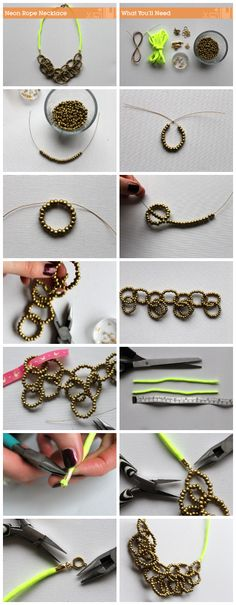pinned solely for the info on making beaded loops.  Never know when that'll come in handy.